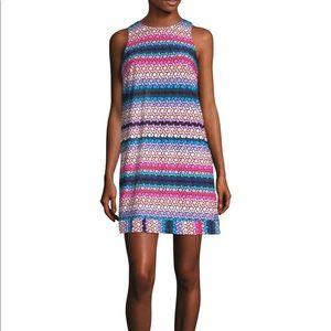 Trina Turk Macee Dress - Mod Lattice Print